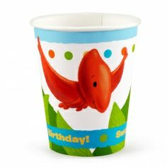 Little Dino 9 oz. Cups (8)