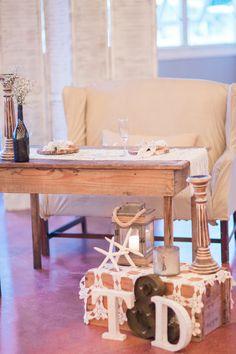 #BigDay #weddings #realweddings   Darian and Tanner's Rustic Outer Banks Beach Wedding
