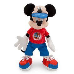 Walt Disney World 2014 12 inch Mickey Mouse Plush Doll