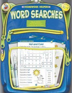 Homework help word search