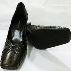 "Sergio rossi shoes dark brown square toe heel 8 Sergio rossi shoes dark brown square toe 3"" heel size 8, with dust bag Sergio Rossi Shoes Heels"