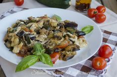 Melanzane e zucchine alla pizzaiola