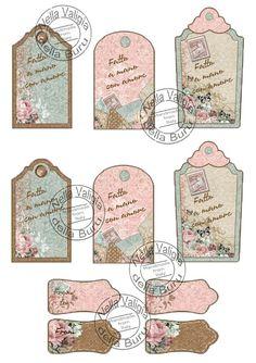 Nella valigia della Buru: Le prime carte stampabili e digitale per scrapbooking della Buru!!! Download free