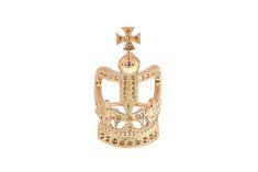 Elysabeth antique crown ring par: DEAR CHARLOTTE SARL
