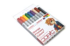 Copic Ciao Marker Pen - 8 Primary Color Set -     If I could have only one thing for my birthday, I would choose these.