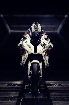 BMW S1000RR WSBK in the wind tunnel