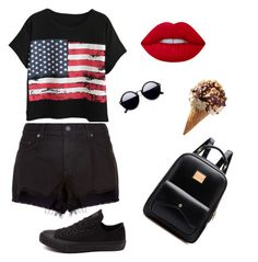 """""""Untitled #18"""" by cristigrosarim on Polyvore featuring Chicnova Fashion, Lime Crime, rag & bone and Converse"""