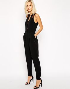 River Island | River Island Lace Jumpsuit at ASOS