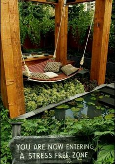 Meditation garden. I would love to have a space like this.