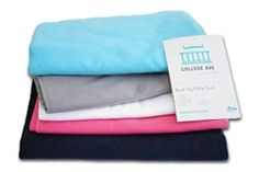 The Quick-Dry College Towel is a supply for college that's a useful product for dorms. The best dorm supplies are useful items for college like college shower supplies. When shopping for college, include supplies for dorms like cheap towels for college. College Nursing, College Gifts, College Must Haves, College Survival Guide, Dorm Accessories, Dorm Essentials, Dorm Life, Craft Stick Crafts, College Students