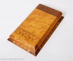 Antique Vintage Wooden holder for paper with by RetroBode on Etsy, 12.94€/sh 3.24€