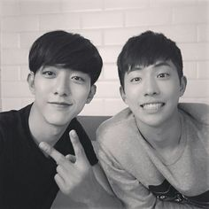 with Lee Jung Shin