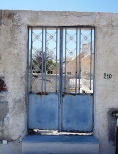 Santorini, Greece :: the Doors   © Constance Vlahoulis