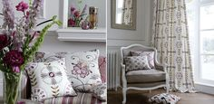 Bukhara Fabrics  by Clarke & Clarke    Bukhara is a stunning collection of embroidered linens,coordinated stripes, jacquard and plain fabrics.    Priced from £21.60 per metre