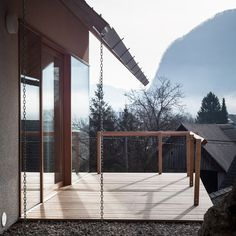Living in Alpine Village by Skupaj Arhitekti
