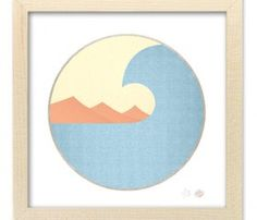 Wavescape Print by BrineAndByway