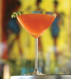 Serrano Cocktail: vodka, Campari, limoncello and orange juice. Summer sipping embodied.   Photo: Tim Turner