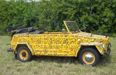 The VW Thing is probably THE coolest automobile on the planet.