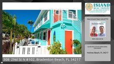 308  2Nd St N #102, Bradenton Beach, 1 bed condo for sale on Anna Maria Island FL 34217 https://youtu.be/e1ytQyQwSwg