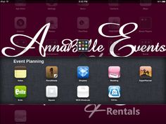 Event Planning Apps
