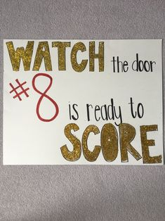 Boys Soccer Games High School Sports Sign Cute Signs For Game Day