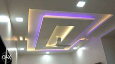 6 Simple Tips and Tricks: False Ceiling Bedroom House false ceiling design spices.False Ceiling Diy Ideas false ceiling gypsum home. False Ceiling Living Room, Ceiling Design Living Room, Bedroom False Ceiling Design, Pop Design, Ceiling Chandelier, Ceiling Lights, Ceiling Ideas, Layout, Office Light