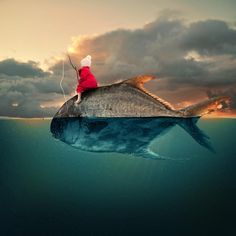 Great for engaging writing prompts! Bizarre images created by Romanian photoshop artist Caras Ionut