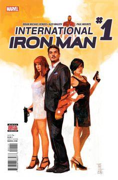 International Iron Man #1 Marvel Comics (2016)