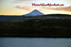 Mount Hood and The Columbia River