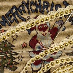 Crochet Bead Garland - Tutorial