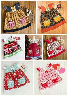 Hattie Rae's Finery Gathering Dresses