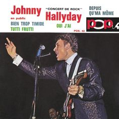 Johnny Hallyday - Pop 4-Concert De Rock