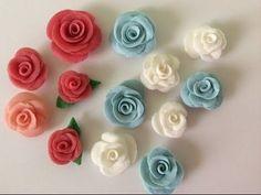 Flores De Cerámica En Frío, Super Fáciles - YouTube