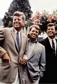 Jack, Bobby, Ted