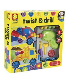 Twist & Drill Toy Kit by ALEX #zulily #zulilyfinds $15.99	was $30.00