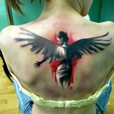 Angels have always been a staple of religious art so it shouldn't be surprising that so many people decide to show their faith through angel tattoos. Some of these tattoos are beautiful and radiant...