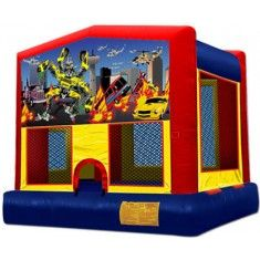 Bounce House- Transformers