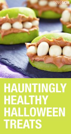 Deliciously healthy halloween treats!