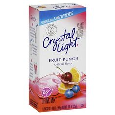 Crystal Light On the Go Fruit Punch Drink Mix 10 ct