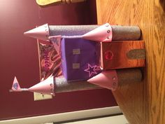 Princess Castle Valentines Day box- Pink