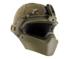 Revision's BATLSKIN ACH. The ultimate protection from trauma whether its blunt force, blast, or ballistic.