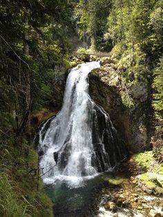Salzburg - Gollinger Wasserfall - pretty waterfall, nice hike, but kind of long