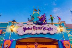 New Themed Queue at Peter Pan's Flight in Walt Disney World Disney World Tips And Tricks, Disney Tips, Disney Love, Disney Magic, Disney Stuff, Disney Theme, Disney Ideas, Disney Disney, Disney Princess