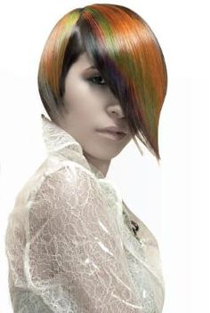In this how-to, Sue Pemberton creates a multi-dimensional bold color statement using Joico VeroLight Powder Lightener and Vero K-Pak Color. Seen on modernsalon.com