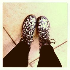 Doc Martens- these are the ones i have + they r awesome! However, i luv the black just as much!