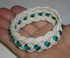 Rope Bracelet DIY -- contains links to several good tutorials