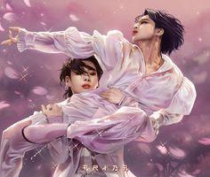 "ARIBA⁷🥀 on Twitter: """"Black Swan 🦢"" ~ @BTS_twt #BlackSwan #JUNGKOOK #JIMIN #박지민 #전정국 #artwork #btsfanart #BTS… "" Jimin Fanart, Kpop Fanart, Foto Jimin, Jimin Jungkook, Bts Taehyung, Namjin, Bts Concept Photo, Purple Wedding Invitations, Bts Drawings"