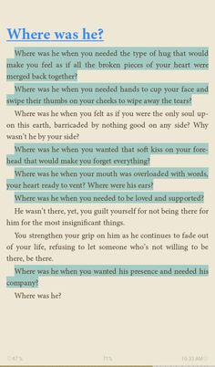 Where was he?  A poem by: Pierre Alex Jeanty.. From his book: to the women I once loved.. Currently reading it..   An amazing book full of heart melting poems ❤ a book for women!   His words here.. Broke me a bit!