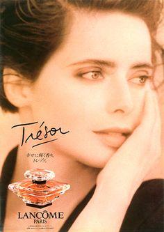 Isabella Rossellini.  LANCOM Trezor 1992.
