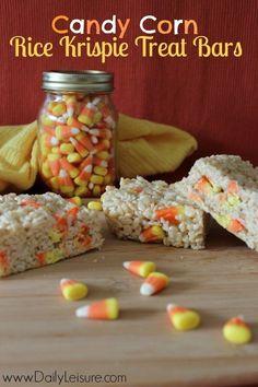 2014 Halloween candy corn mason jar that you should know - dessert, rice krispie #Halloween #candy #corn